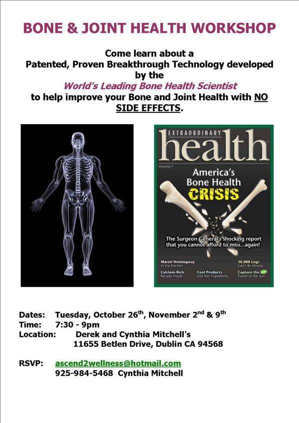 Bone and Health Seminar in Dublin